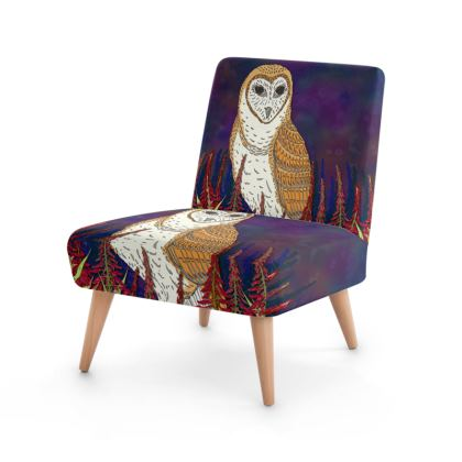 Fireweed Barn Owl Occasional Chair