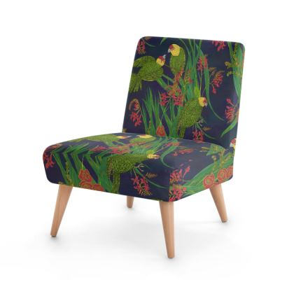Parakeet Paradise Occasional Chair