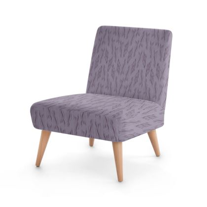 Lilac Stripe Occasional Chair