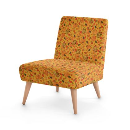 Ditsy Paisley Occasional Chair