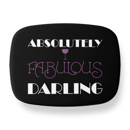 Lunch Box - Absolutely Fabulous Darling - ABFAB (White text) 2