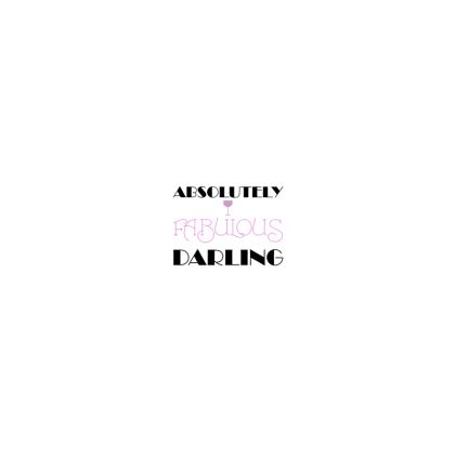 Hard Glasses Case - Absolutely Fabulous Darling - ABFAB 2