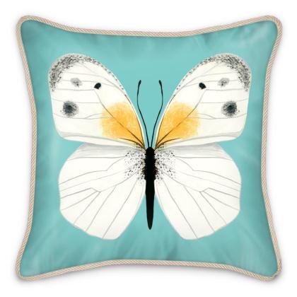 Beautiful Butterflies Silk Cushion by Lucinda Kidney