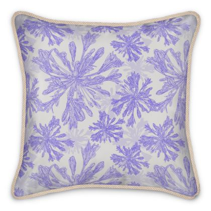 Agapanthus Luxury Collection - Silk Cushions