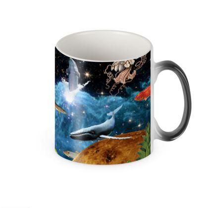 Earth and Heaven Heat Changing Mug