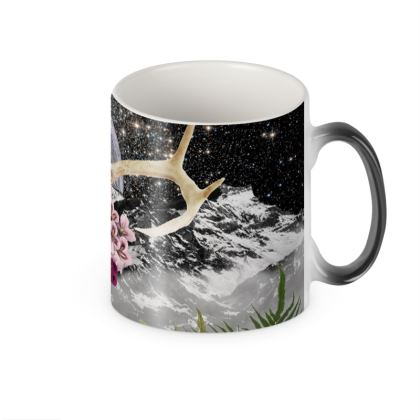Raven Heat Changing Mug