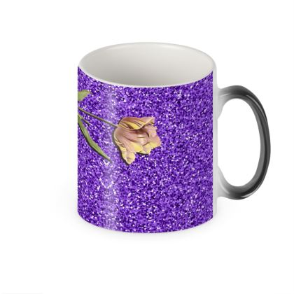 Floral Shut Heat Changing Mug