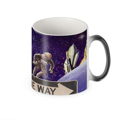 One Way Heat Changing Mug