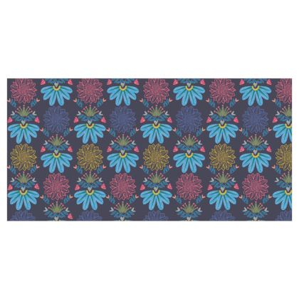Blue Floral Craft Fabric