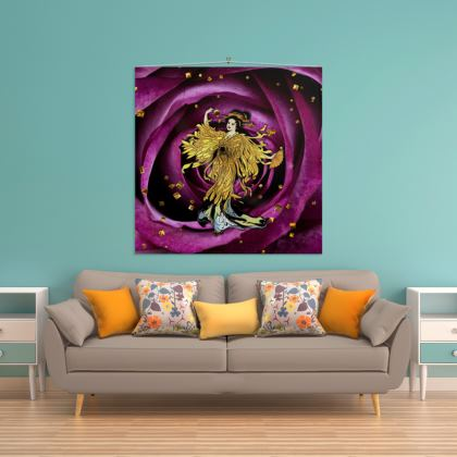 Golden Opera Wall Hanging