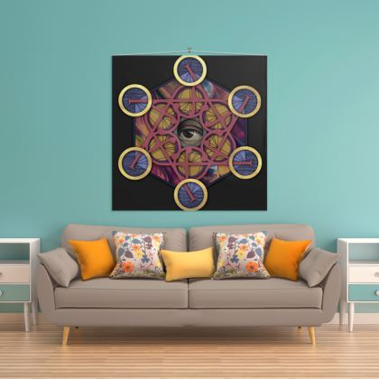 Metatrons Cube Wall Hanging