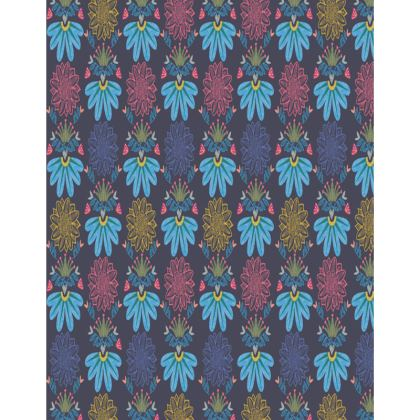 Blue Floral Craft Trays