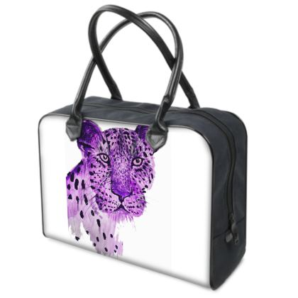 DELLA SPENCER PURPLE LEOPARD