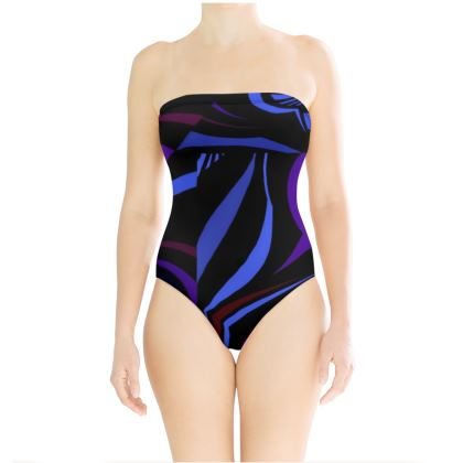 Costume a top linea Riflessi mare