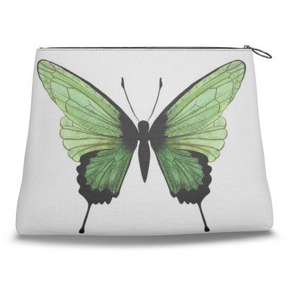 Beautiful Butterflies Clutch Bag by Lucinda Kidney