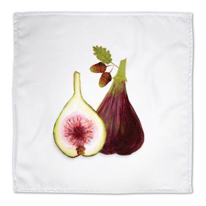 Harvest Vegetables Napkins by Lucinda Kidney