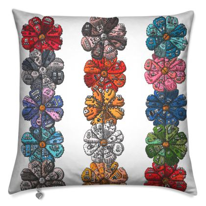 Crazy Creature Flower Cushion