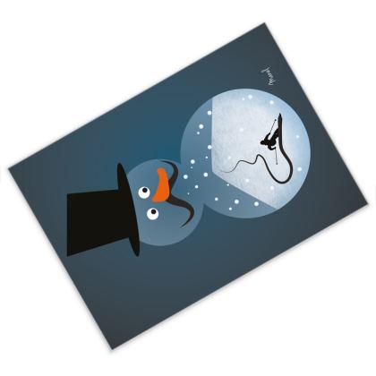 Snowman X-mas Card