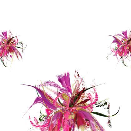 Kimono - Pink Flow White