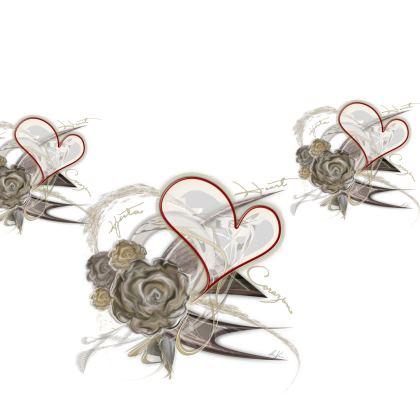 Kimono - Brown Heart