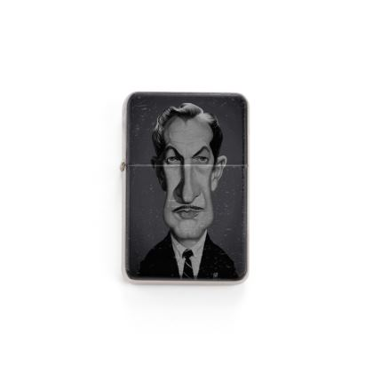 Vincent Price Celebrity Caricature Lighter