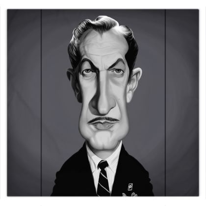 Vincent Price Celebrity Caricature Duvet Covers
