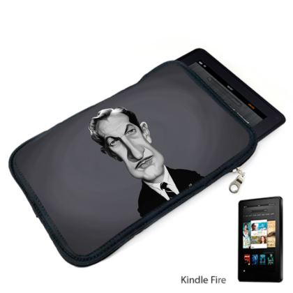 Vincent Price Celebrity Caricature Kindle Case