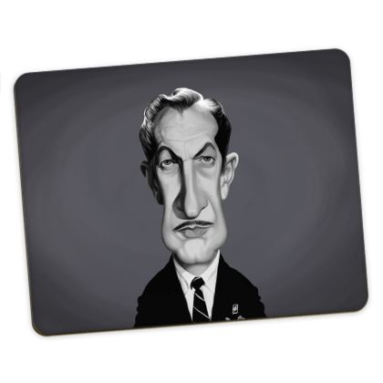 Vincent Price Celebrity Caricature Placemats