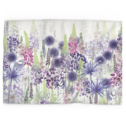 Flower Dance Tea Towel