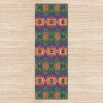 Heart Chakra Non-Slip Yoga Mat