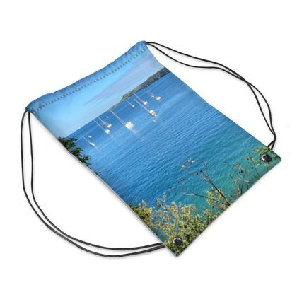 Summer on the Helford swim bag
