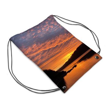 Ferry Boat December Sunrise , Helford swim bag