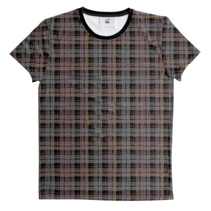 Cut And Sew All Over Print T Shirt 5