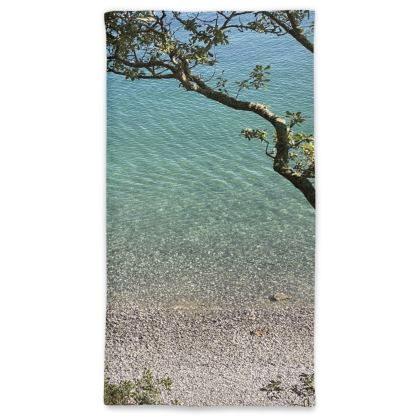 Grebe beach Crystal clear waters neck Gaiter