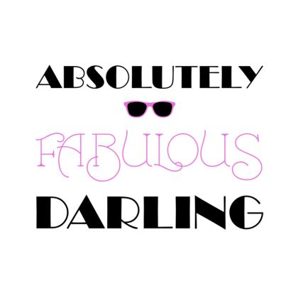 Coasters - Absolutely Fabulous Darling - ABFAB
