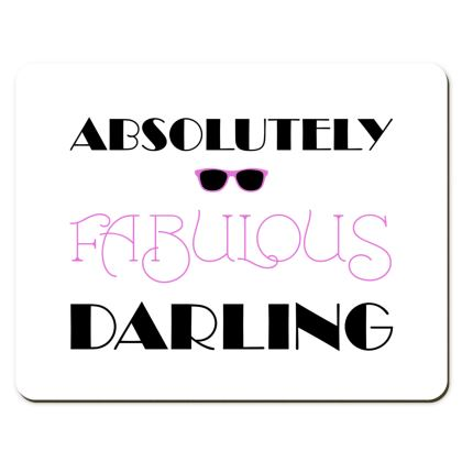 Placemats - Absolutely Fabulous Darling - ABFAB