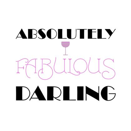 Coasters - Absolutely Fabulous Darling - ABFAB 2