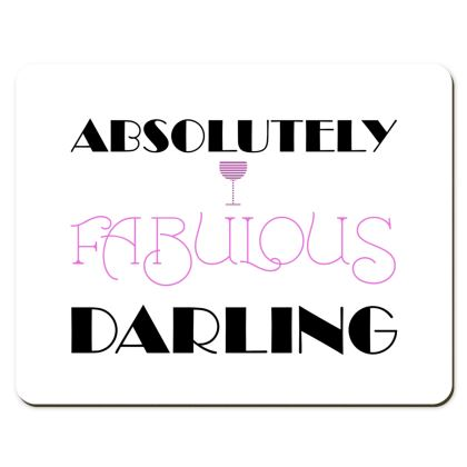 Placemats - Absolutely Fabulous Darling - ABFAB 2
