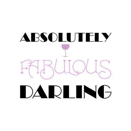Fabric Placemats - Absolutely Fabulous Darling - ABFAB 2