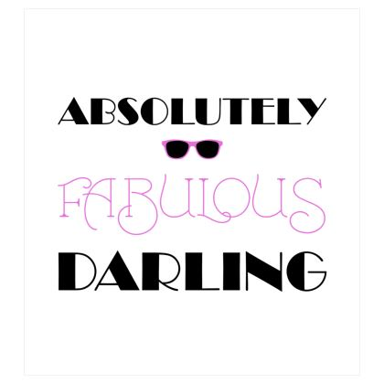 Curtains (167x182cm) - Absolutely Fabulous Darling - ABFAB