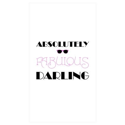 Roller Blinds (91cmx162cm) - Absolutely Fabulous Darling - ABFAB
