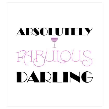 Curtains (167x182cm) - Absolutely Fabulous Darling - ABFAB 2