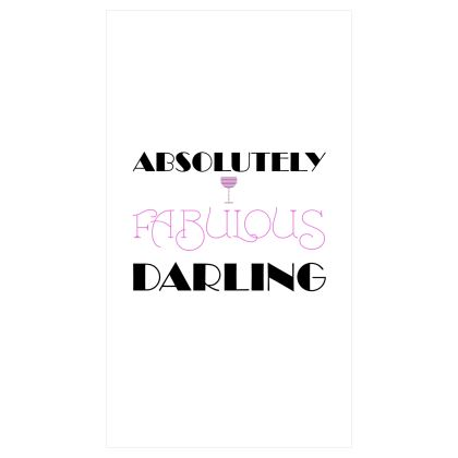 Roller Blinds (91x162cm) - Absolutely Fabulous Darling - ABFAB 2