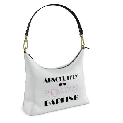 Square Hobo Bag - Absolutely Fabulous Darling - ABFAB