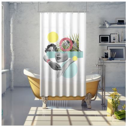 Bathing Shower Curtain