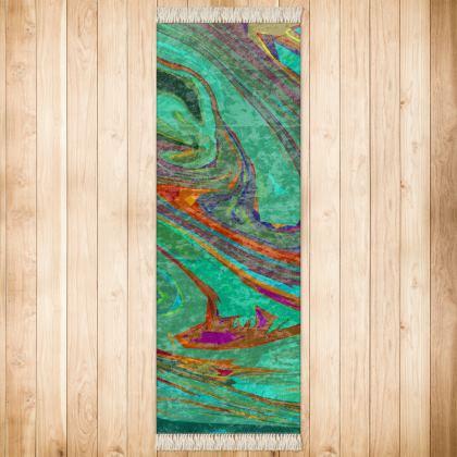 Runner (180x63cm) - Abstract Diesel Rainbow 2