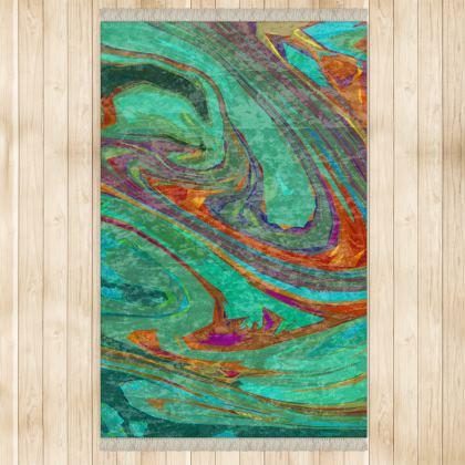 Large Rug (128x200cm) - Abstract Diesel Rainbow 2