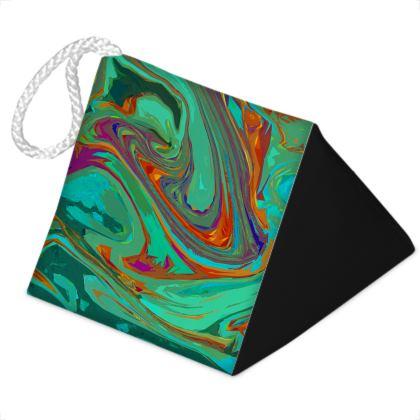 Door Stopper - Abstract Diesel Rainbow 2