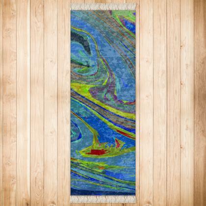Runner (189x63cm) - Abstract Diesel Rainbow 3