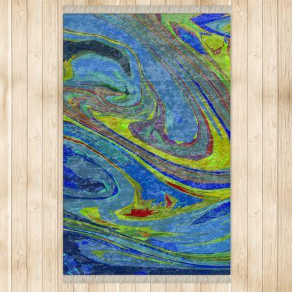 Large Rug 128x200cm) - Abstract Diesel Rainbow 3